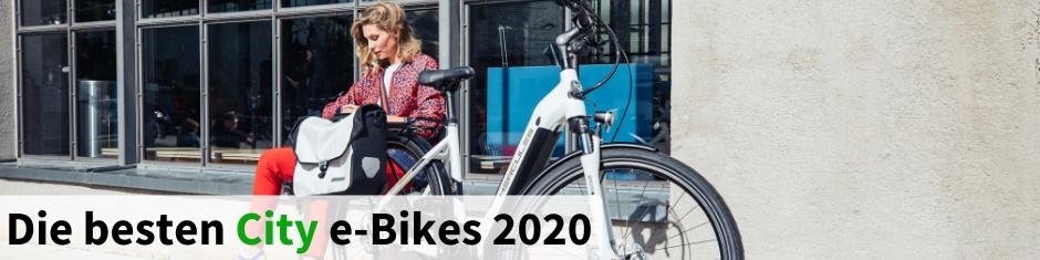 Die besten City e-Bikes 2018