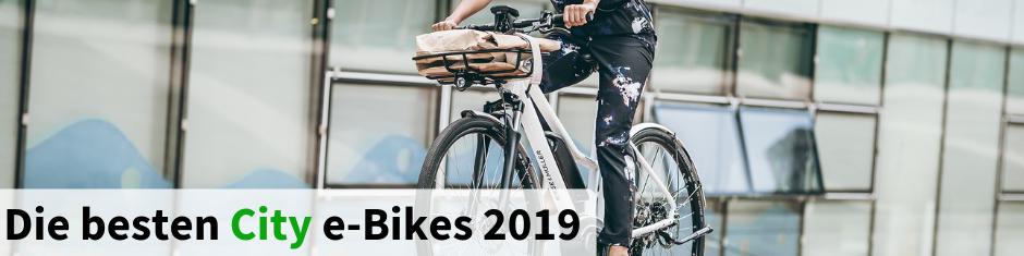 Die besten City e-Bikes 2017