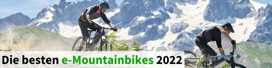 Testsieger e-Mountainbikes 2021