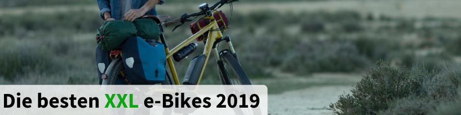 Die besten XXL e-Bikes 2017