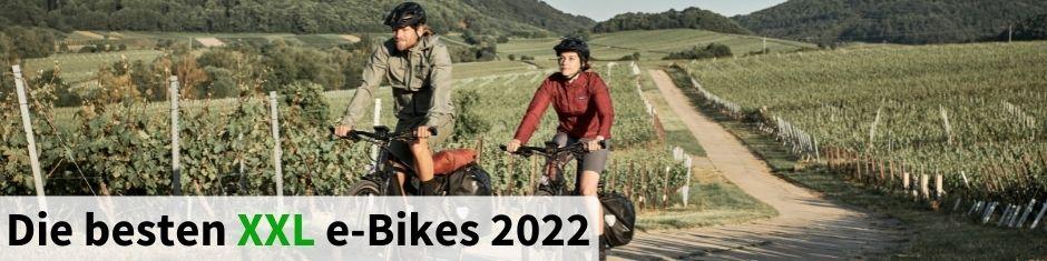 Testsieger XXL e-Bikes 2021
