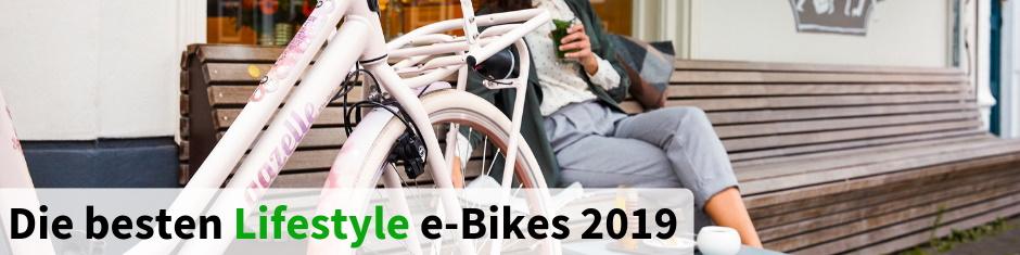 Die besten Lifestyle e-Bikes