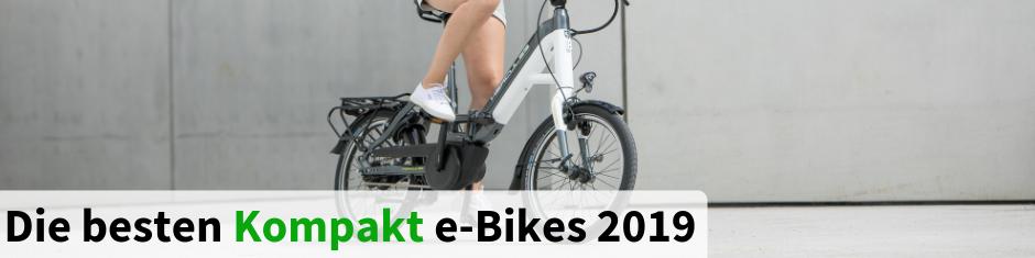 Die besten Kompakt und Falt e-Bikes