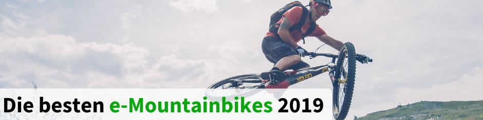 Die besten e-Mountainbikes 2018