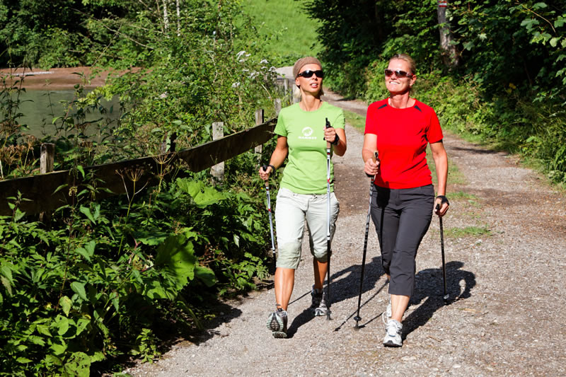 Nordic-Walking hält alle fit