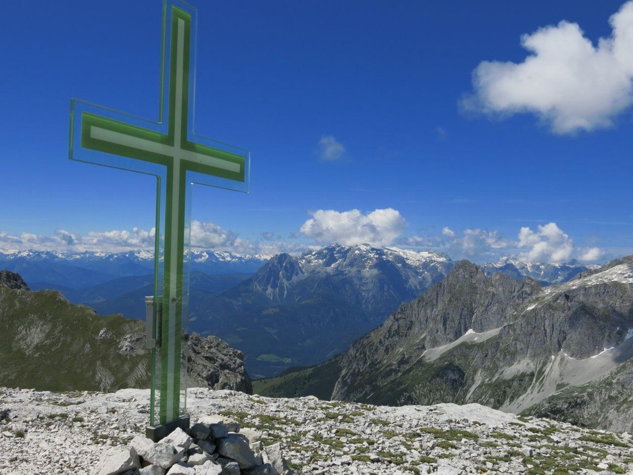 Für Berggeübte Wanderer ist auch eine Bergtour kein Problem
