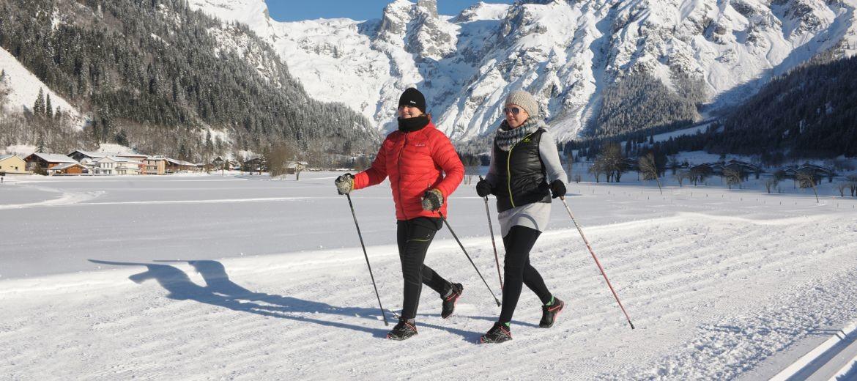 Bild: Schöne Winterwanderwege zum Genießen der wunderbaren Winterlandschaft