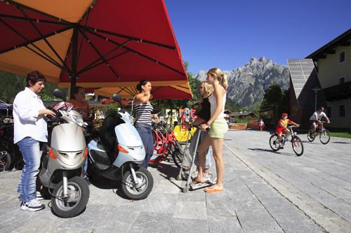 Bild: SAMO -Angebot  Spaßfahrzeuge für die Gäste