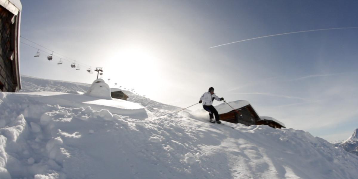 Bild: Die Skipisten sind immer bestens präpariert