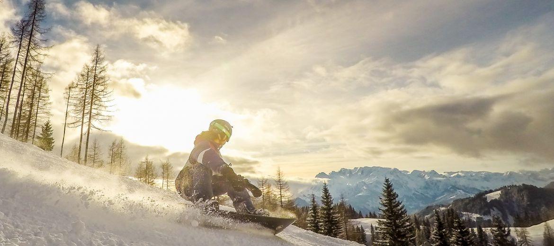 Bild: Schifahren und Snowboarden in Werfenweng
