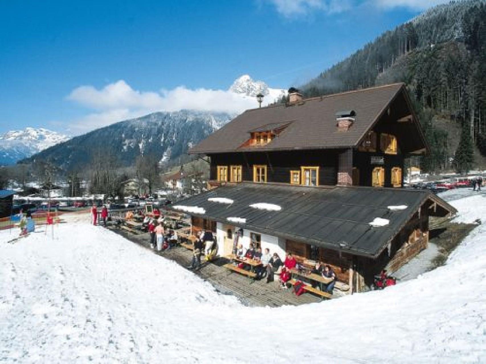 Bild: Unsere Skihütten laden zum Apres- Ski ein
