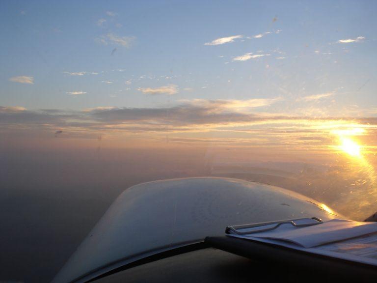 Sonnenaufgang über dem Werratal