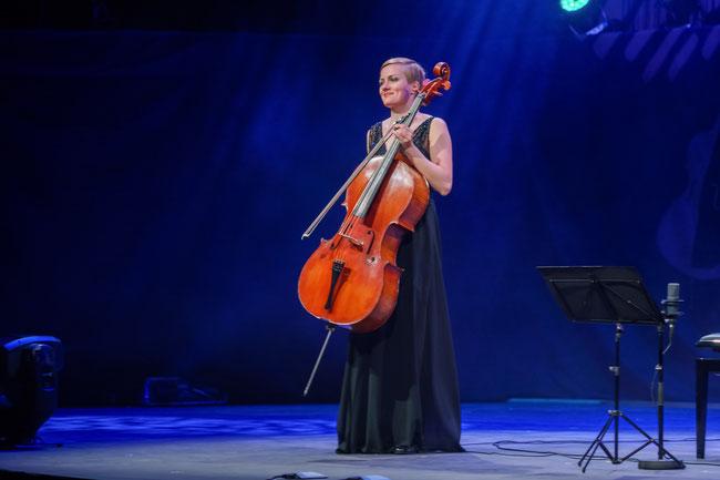 MARA beim Abschlusskonzert der Cello Akademie Rutesheim.