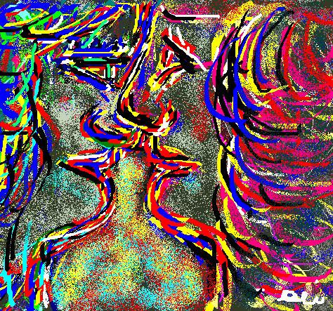 IL BACIO - 2012 paint
