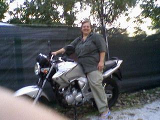 IO SULLA MOTO DI MONICA agosto 2007