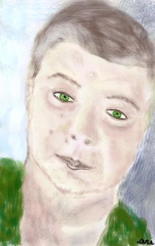 AUTORITRATTO - 2012 dipinto digitale