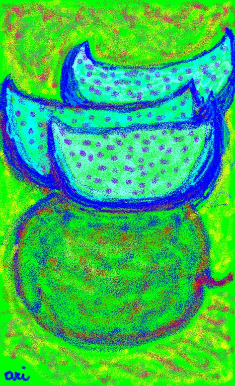 COCOMERI APOCALITTICI 2012 paint