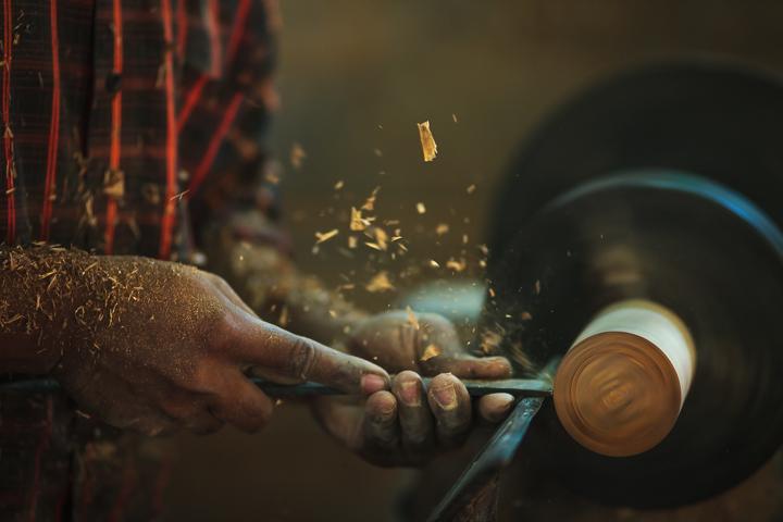 Herstellung einer Schale