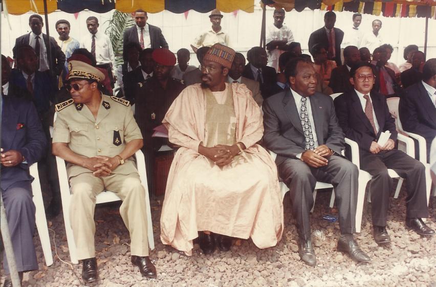 Le ministre des Transports, Tchiroma et le Dg de l'Onpc Tchouta Moussa
