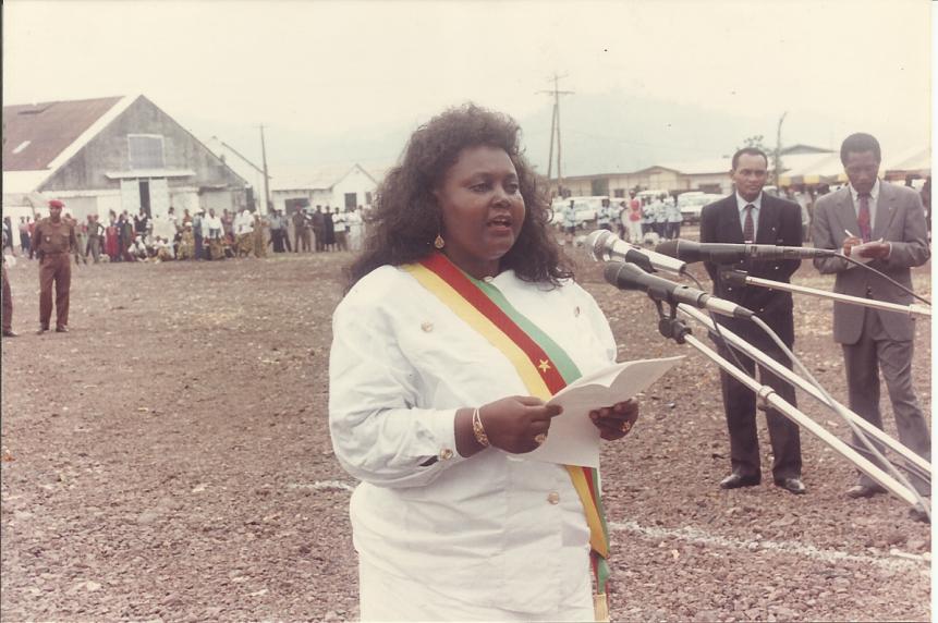 Allocution de bienvenue de madame le maire de Limbé