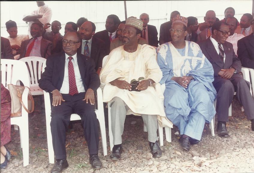 L'ancien ministre Emmanuel Egbé abi