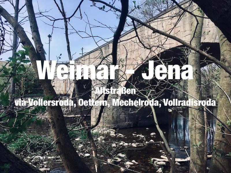 1.1 Von Weimar via Apolda nach Jena