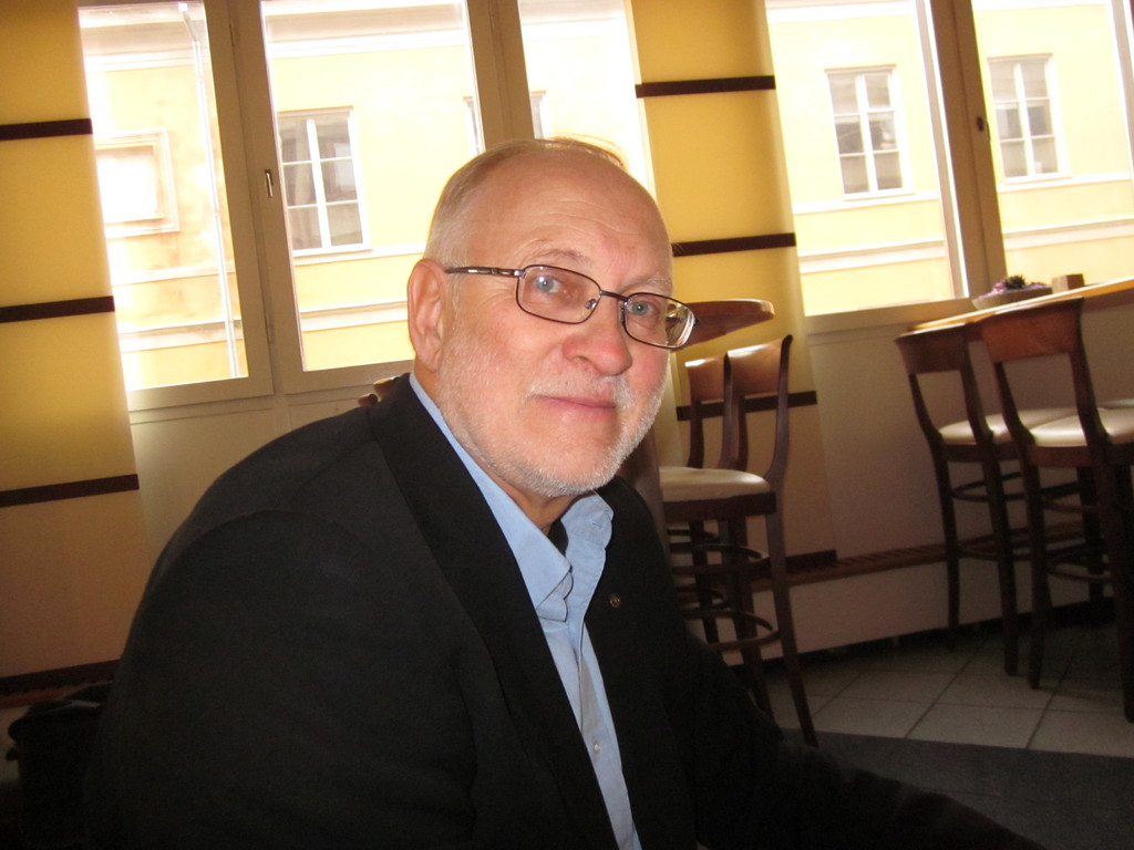 Roland Nilsson Naturbruks高校校長先生