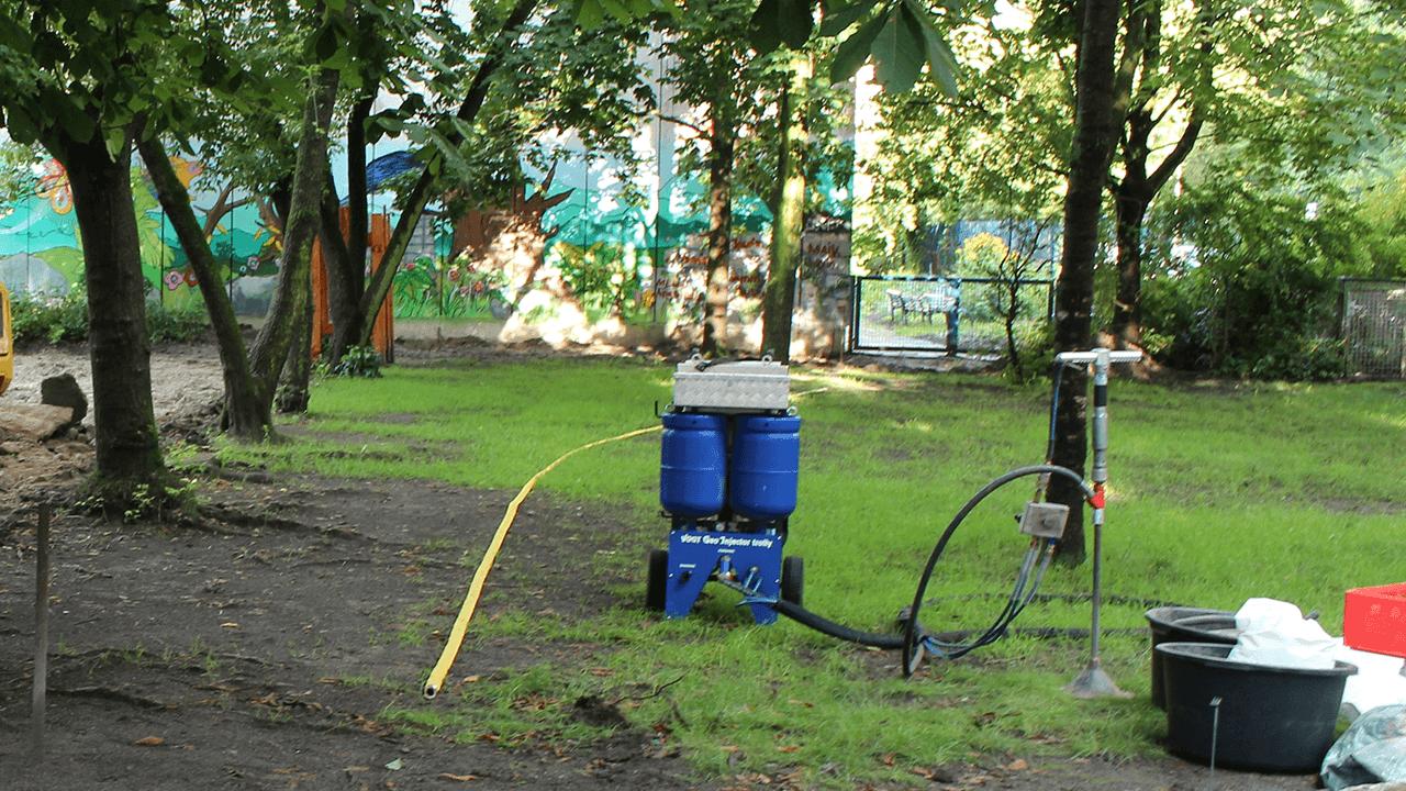 Standortsanierung auf der Fläche