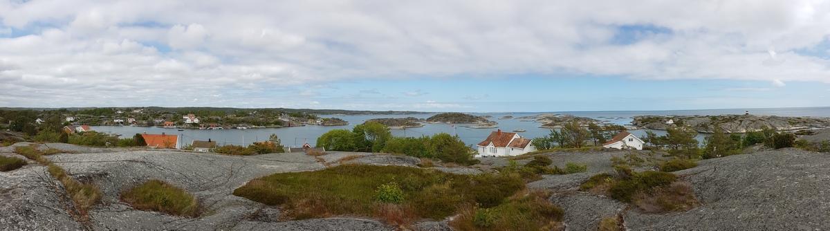 Portør Küste mit BLick in Richtung Jomfruland