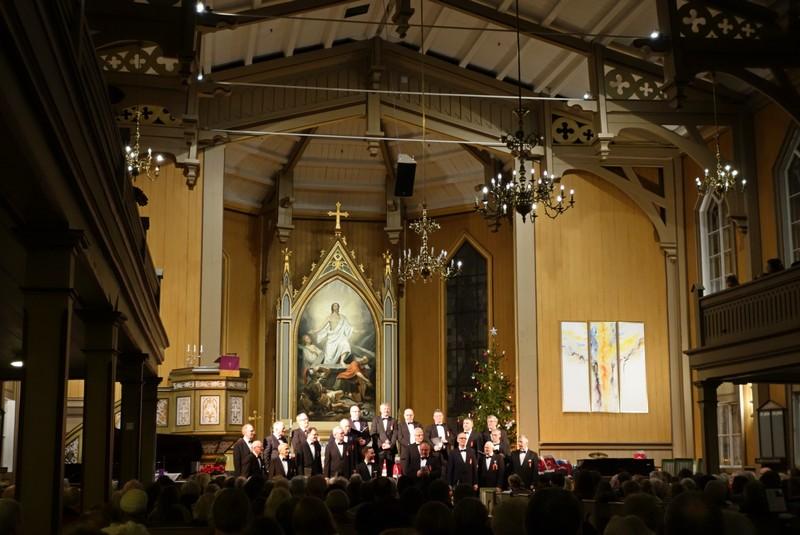 Weihnachtskonzert in der Domkirche in Tromsø