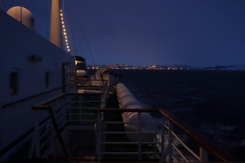 Abfahrt Kirkenes