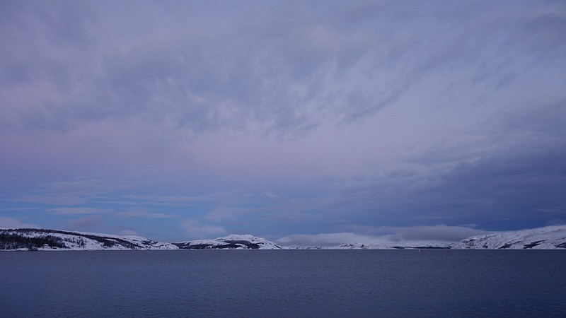 Winterwetter in Kirkenes