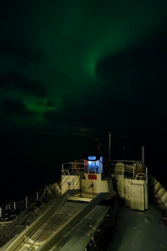 und wieder Nordlicht