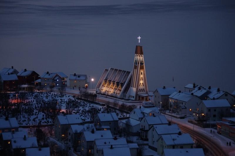 Hammerfest Kirche...