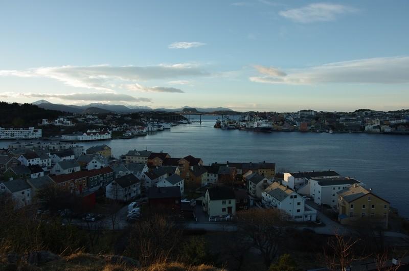 Blick über Kristiansund