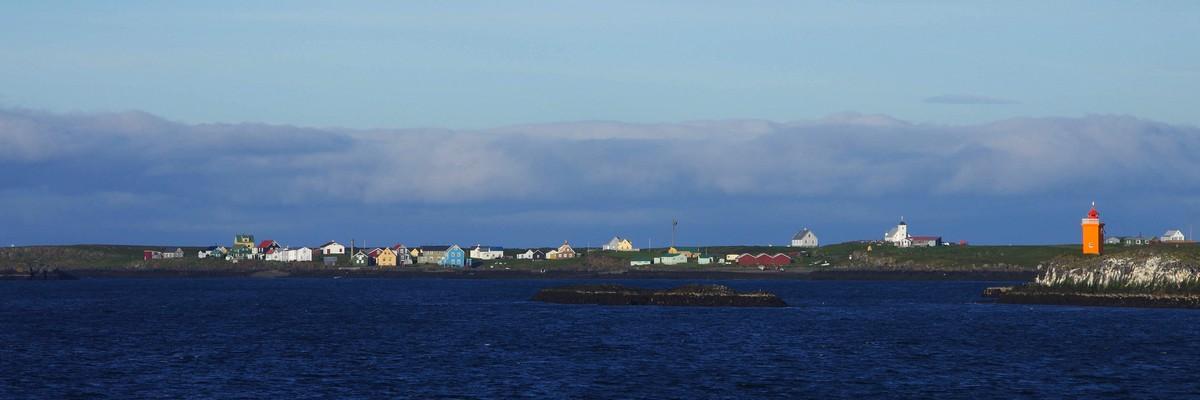Zwischenstopp Insel Flatey