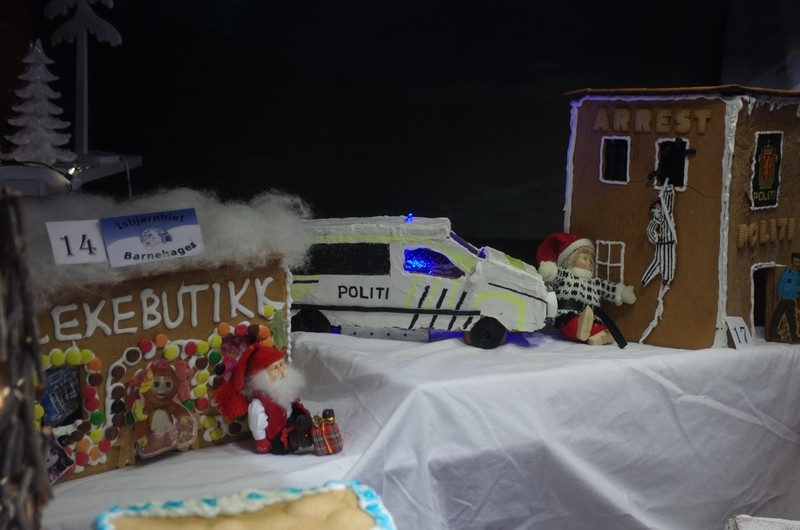 Lebkuchenkonkuranse in Hammerfest