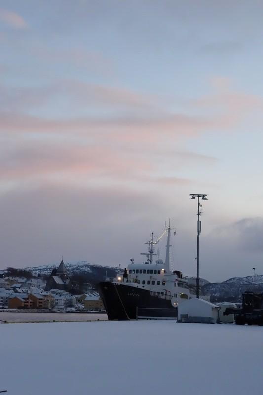 im Hafen von Kristiansund