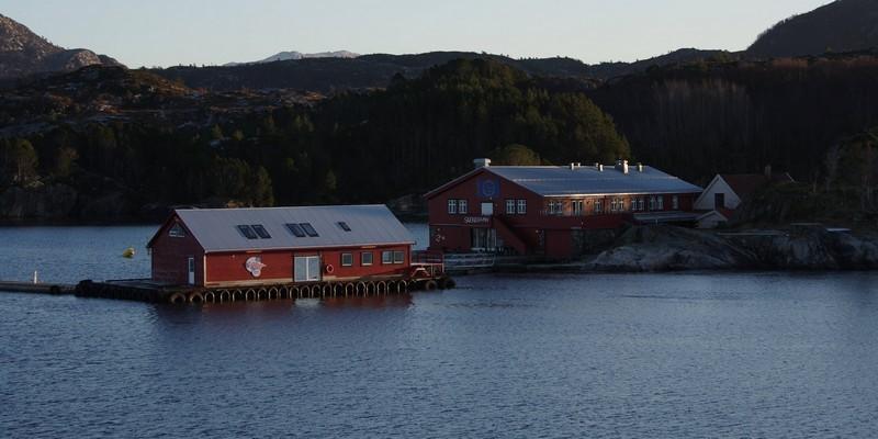 ...ein alter Handelsplatz Skjerjehamn...