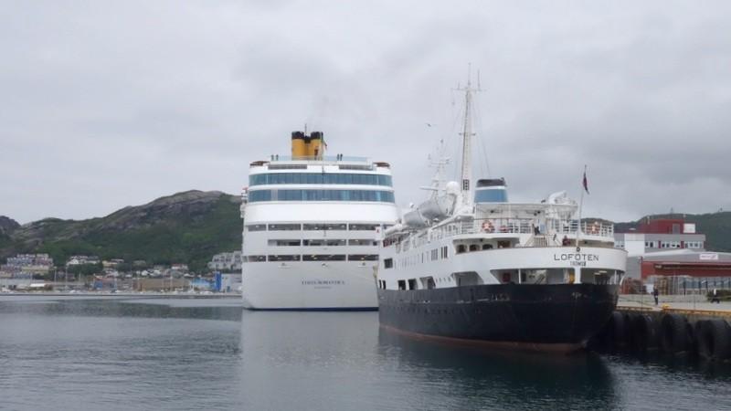 im Hafen von Bodø