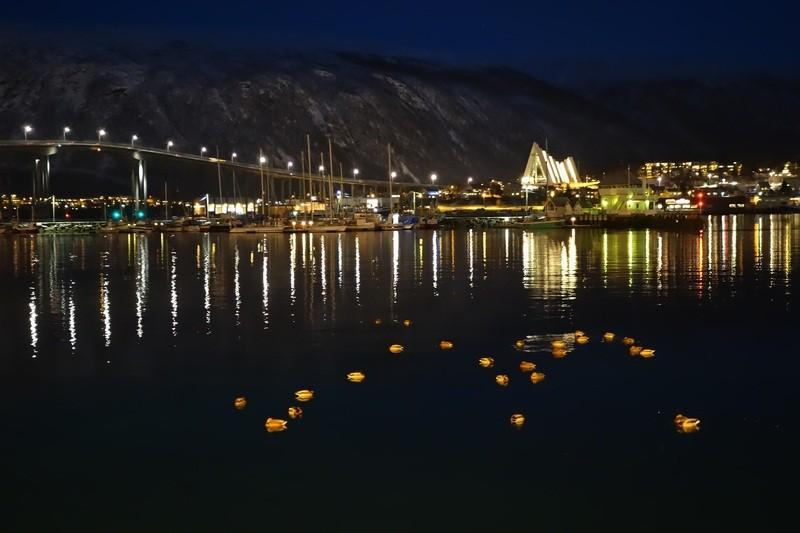 und schon sind wir in Tromsø