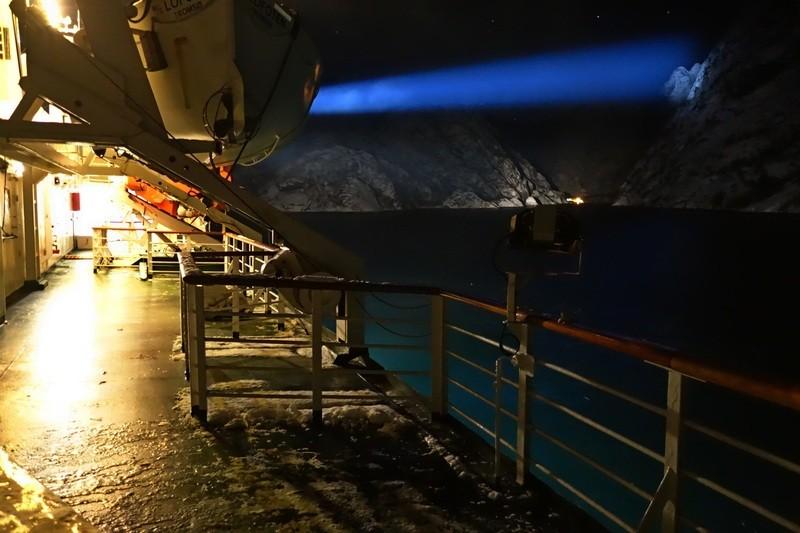 wieder am Trollfjord