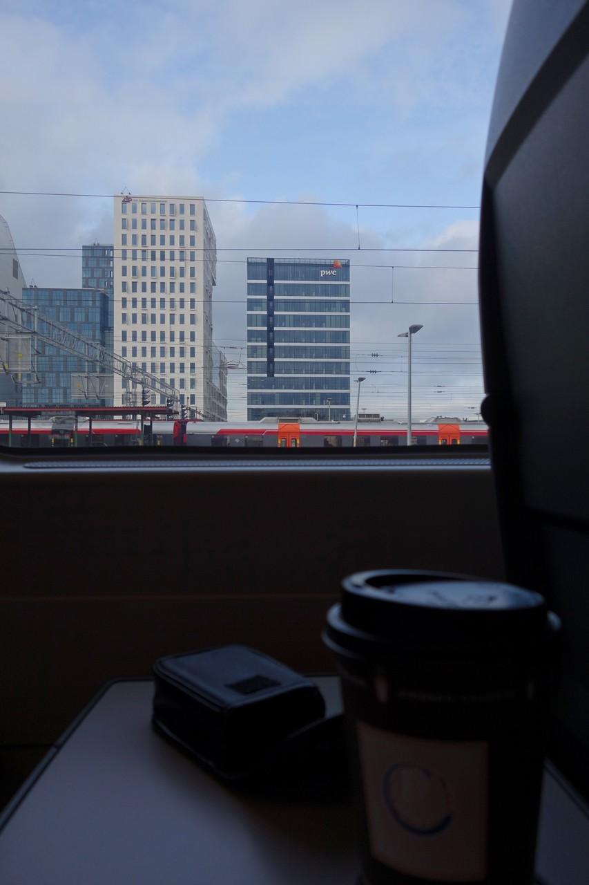die Reise geht los, dieses Mal mit dem Zug