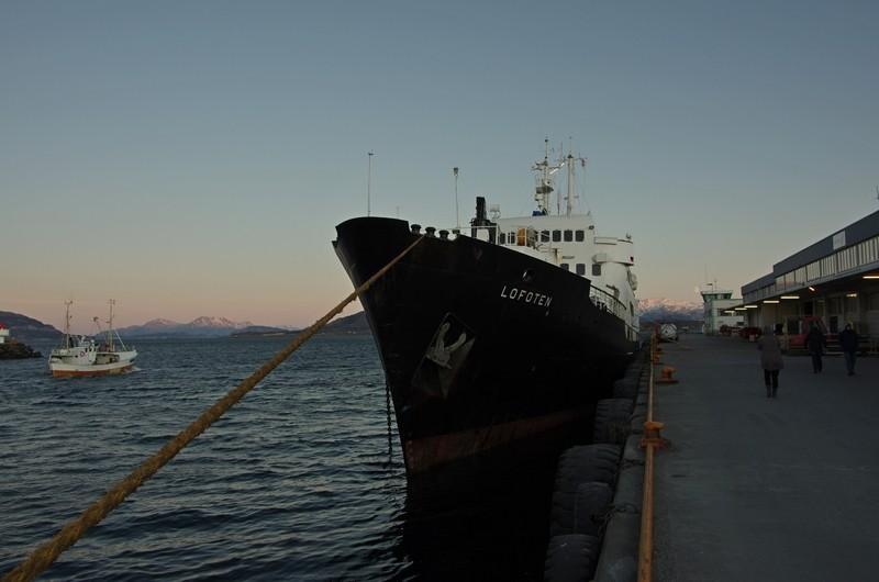 im Hafen von Sandnesjøen