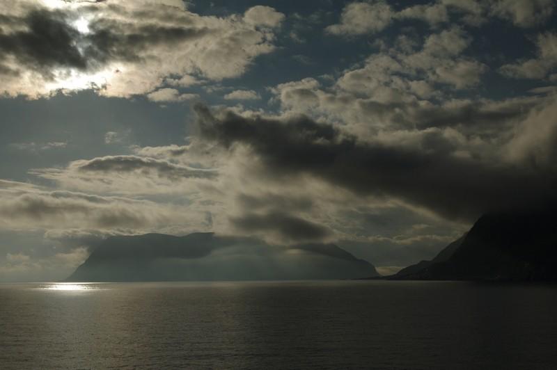 am Morgen kurz vor Ålesund