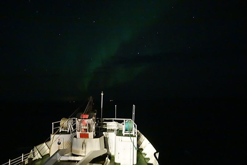 auf Vardø ist Verlaß - Nordlicht