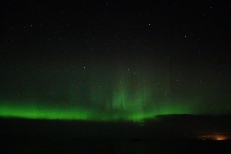 und dann ...unser erstes Nordlicht