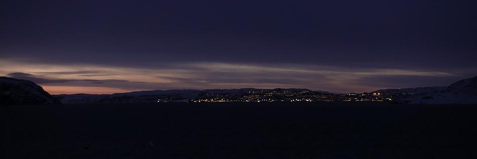 Kirkenes taucht auf