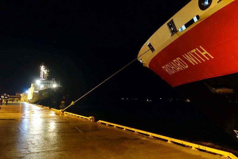 im Hafen von Rørvik
