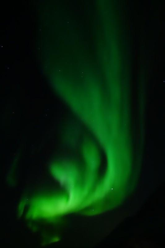 und wieder gibt es Nordlicht...